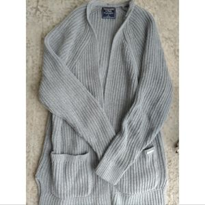 A&F Pocket Knit Cardi